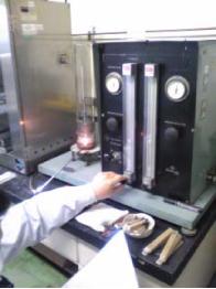 酸素指数試験機(燃焼性試験装置)