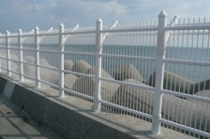 高波浪フェンス(特殊仕様品) 【格子間隔=@48mm】