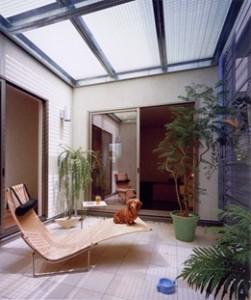 住宅ベランダの床材 GS4040クリアタイプ