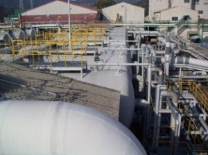 FRP海水砂ろ過装置の主な施工事例