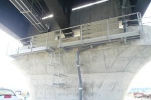 FRP検査路の施工事例