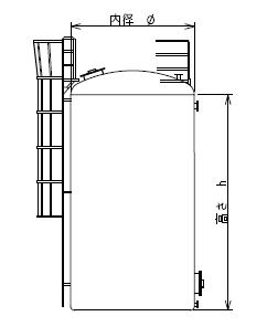 FRPタンクの標準仕様