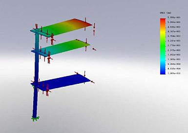 実施例- 製品の3 次元構造解析例①