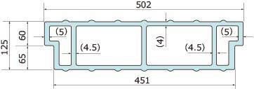 パネルP500-125H